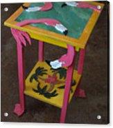 Barefootin' Table  Acrylic Print