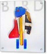 Bird Moderne Acrylic Print