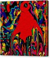 Bird Of Paradise Acrylic Print