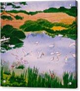 Bird Pond Acrylic Print