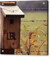 Birdhouse - 1 Acrylic Print