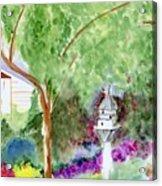 Birdhouse Acrylic Print
