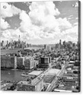 Bird's Eye View Hoboken Nj Acrylic Print