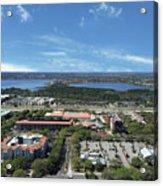 Birds Eye View Orlando Florida Acrylic Print