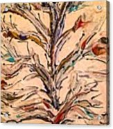 Birds In A Tree Acrylic Print