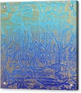 Birds Of Blue Acrylic Print