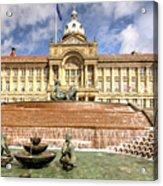 Birmingham City  Town Hall  Acrylic Print