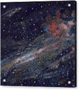Birth Of A Galaxy Acrylic Print by Elizabeth Lane