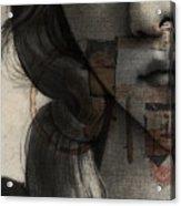 Birth Of Venus Retro Acrylic Print