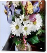 Birthday Bouquet Acrylic Print