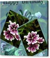 Birthday Card Acrylic Print