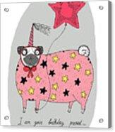 Birthday Present Acrylic Print