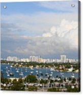 Biscayne Bay Acrylic Print