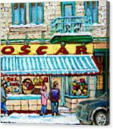 Biscuiterie Oscar Rue Ontario Acrylic Print