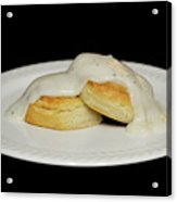 Biscuits And Gravy Acrylic Print