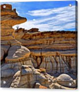 Bisti Badlands Formations - New Mexico - Landscape Acrylic Print