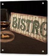 Bistro Still Life I Acrylic Print