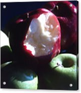 Bitten Apple Still Life Acrylic Print