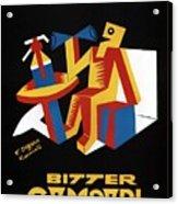 Bitter Campari - Aperitivo - Vintage Beer Advertising Poster Acrylic Print