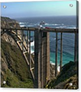 Bixby Creek Bridge 5 Acrylic Print