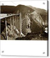 Bixby Creek Bridge Acrylic Print