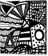 Black And White 19 Acrylic Print