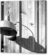 Black And White Barn Fixture 2 Acrylic Print