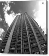 Black And White Brutalist Barbican Acrylic Print