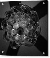 Black And White Crystal Acrylic Print