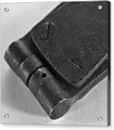 Black And White Handheld Holepunch Acrylic Print
