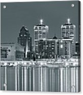 Black And White Louisville Acrylic Print