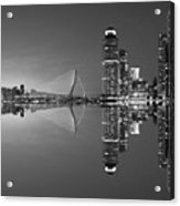 Black And White Rotterdam - The Netherlands Acrylic Print