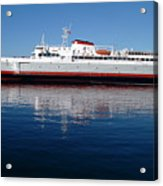 Black Ball Ferry Acrylic Print