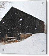 Black Barn II Acrylic Print