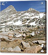 Black Bear Lake Camp - Sierra Acrylic Print