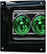 Black Beauty Clone Car Acrylic Print