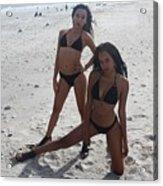 Black Bikinis 13 Acrylic Print