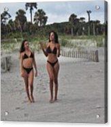Black Bikinis 29 Acrylic Print