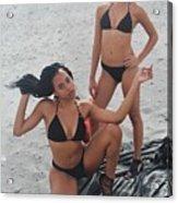 Black Bikinis 7 Acrylic Print