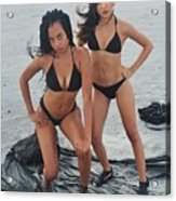 Black Bkinis 3 Acrylic Print