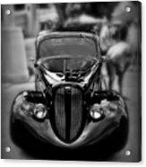Black Classic Acrylic Print