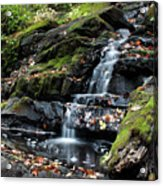 Black Creek Falls In Autumn, 2016 Acrylic Print