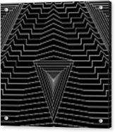 Black Diamond Acrylic Print