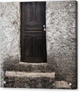 Black Door Acrylic Print