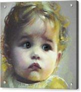 Black Eyes Acrylic Print