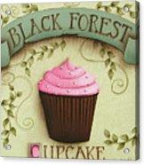 Black Forest Cupcake Acrylic Print by Catherine Holman