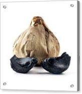 Black Garlic Acrylic Print