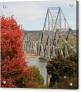 Black Hawk Bridge Acrylic Print
