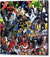 Black Heroes Matter Acrylic Print