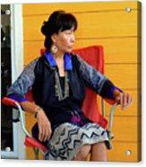 Black Hmong Sapa 1 Acrylic Print